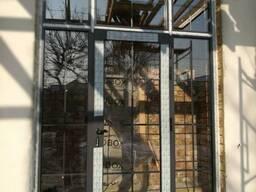 •Входные двери из алюминиевого профиля теплой серии•